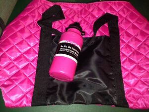 Gym Bag & Water Bottle - Never Used