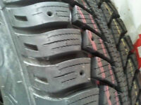 4 BRAND NEW SNOW TIRES & STEEL RIMS - UNIROYAL TIGER PAWS