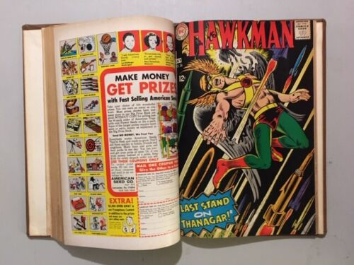 Bound Volume of Hawkman Issues #21 to 27 from 1967 and 1968