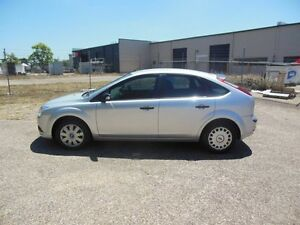 2008 Ford Focus LT CL Silver 4 Speed Sports Automatic Hatchback Underwood Logan Area Preview