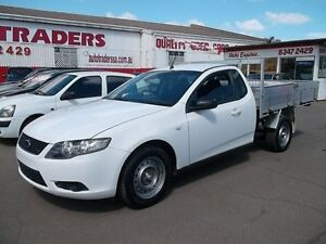 2009 Ford Falcon FG (LPG) White 4 Speed Auto Seq Sportshift Cab Chassis Woodville Park Charles Sturt Area Preview