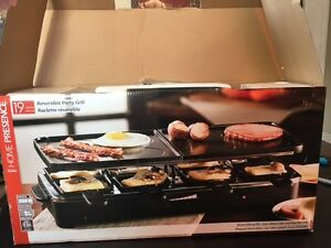 Reversible Party Grill/ Raclette for 8 - Never used