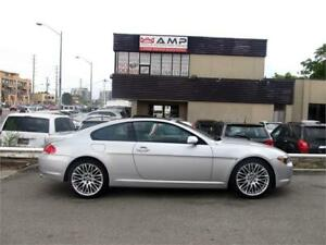 2004 BMW 6 Series 645Ci RWD 4.4LCHROME RIMS We APPROVE ALL!