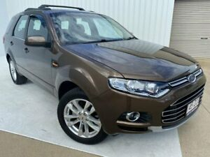 2013 Ford Territory SZ TS Seq Sport Shift Brown 6 Speed Sports Automatic Wagon Mundingburra Townsville City Preview