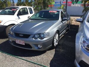 2006 Ford Falcon BF XR8 Grey 6 Speed 6 SP Auto Active Select Sedan Winnellie Darwin City Preview