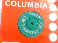 Vinyl 7in 45 Wonderful Land / Stars Fell On Stockton – The Shadows Columbia 45 – DB 4790 1962