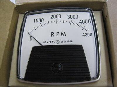 General Electric 162119fazz2 Rpm Panel Meter Type. D0-91