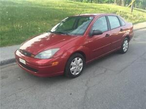 2002 FORD FOCUS  , AUTOMATIQUE ,  164.000 KM   AIR CLIMATISE