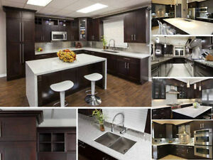10'X10'solid wood kitchen cabinet +granite countertop from $4348