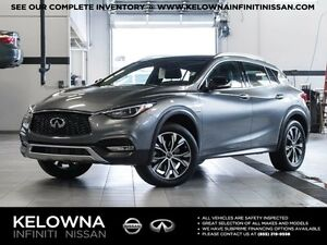 2017 Infiniti QX30 All-wheel Drive with Premium Package