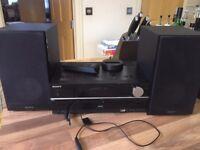 Sony - CMT-HX80R - DAB Micro HiFi System CD-RW, DAB Radio, AM & FM