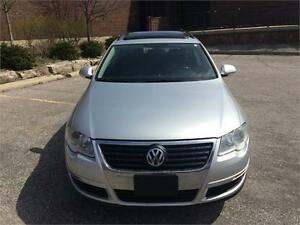 2007 VW PASSAT WAGON, AUTO, LEATHER,LOW KMs
