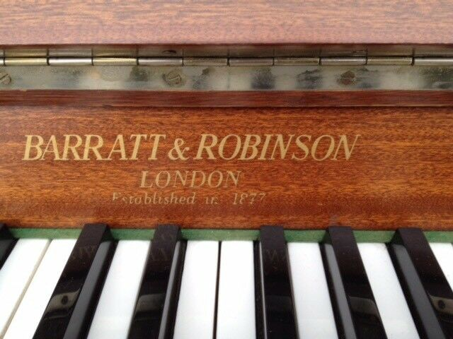 Barratt and Robinson piano