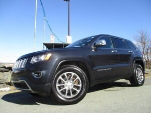 2014 Jeep Grand Cherokee Limited (CLEAN CARFAX! 4X4, V6, HEATED