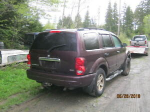 Parting out   2004 Dodge Durango 4x4