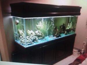 150 gallon fishtak aquarium for sale