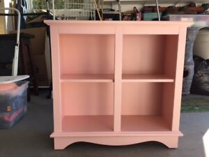 Bookcase - Solid Wood painted.