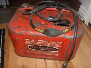 Vintage Outboard Fuel Tanks and More