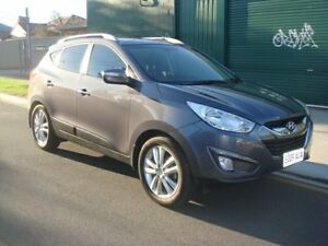 2012 Hyundai ix35 LM2 Highlander AWD Grey 6 Speed Sports Automatic Wagon Hampstead Gardens Port Adelaide Area Preview