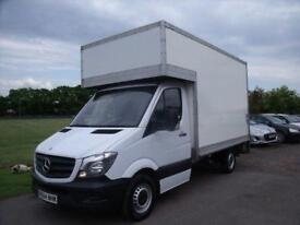 MERCEDES SPRINTER 313 CDI C-C MWB - LUTON VAN White Manual Diesel, 2014