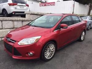 2012 Ford Focus SEL - As Traded Special just $4988