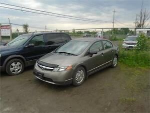2008 Honda Civic DXG-ONLY 92,000 KM-EXTRA CLEAN-SALE PRICED!