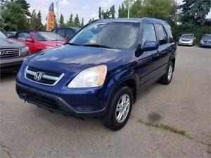 2003 Honda CR-V EX, 4WD, Leather, Sunroof, Excellent Shape