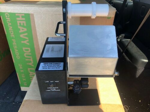 LABELMATE LD-100-RS Automatic Label Dispenser with safety shield.