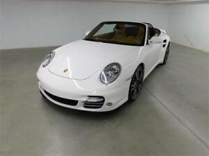 PORSCHE 911 TURBO CONVERTIBLE 2010 (AUTOMATIQUE BLUETOOTH)