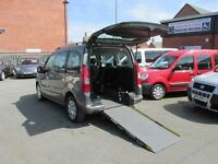 Peugeot Partner automatic, wheelchair accessible, disabled access, WAV, mobility