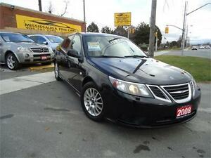 2008 Saab 9-3,,NO ACCIDENT,2.OL TURBO,LEATHER,SUNROOF,SPOILER
