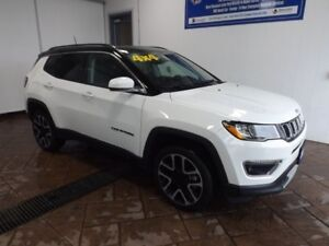 2017 Jeep Compass Limited 4WD LEATHER NAVI SUNROOF