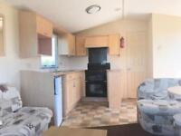 6 berth static holiday home on the gorgeous Ayrshire coast