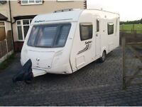 2010 SWIFT SAFARI 550 4 BERTH CARAVAN IN EXCELLENT CONDITION INSIDE AND OUT