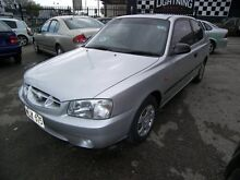 2000 Hyundai Accent LC GL 5 Speed Manual Nailsworth Prospect Area Preview