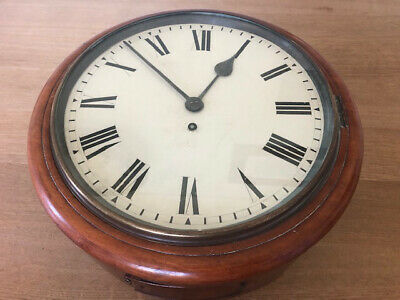 Old Fusee Wall Clock, Excellent Condition