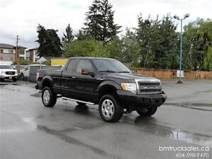 2010 FORD F-150 XLT EXT CAB SHORT BOX 4X4 LIFTED