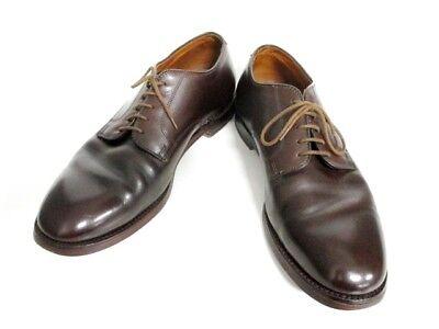 Auth Alden DarkBrown Leather Shoes Men