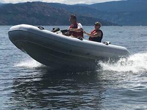 Seadoo Explorer RHIB  85 hp  and  Trailer