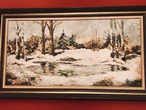 Original Oil Painting by Roxann Vivian Smith