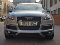 Audi Q7 3.0 TDI S Line Tiptronic Quattro 5dr ((Full Service History+W.Mileage+12M MOT))