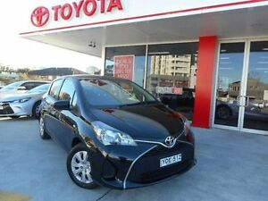 2015 Toyota Yaris NCP130R MY15 Ascent Ink 4 Speed Automatic Hatchback Allawah Kogarah Area Preview