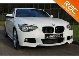 2012 12 BMW 1 SERIES 2.0 120D M SPORT 5D AUTO 181 BHP DIESEL