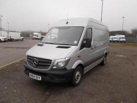 Mercedes-Benz Sprinter 313 Cdi DIESEL MANUAL SILVER (2014)