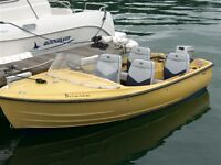 boat Bonwitco 13ft Day Boat & Trailer includes 9.9hp Honda outboard