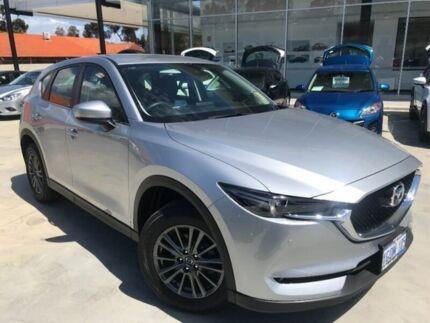 2018 Mazda CX-5 KF4WLA Touring SKYACTIV-Drive i-ACTIV AWD Silver 6 Speed Sports Automatic Wagon Palmyra Melville Area Preview