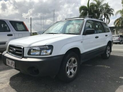2006 Subaru Forester 79V MY06 X AWD White 4 Speed Automatic Wagon