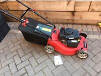 Mower - Petrol 4 Stroke with Catcher Bag and spare plug Hardly used