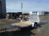 5 x 10 Aluminum Utility Trailer - 2200# TORSION AXLE *TAXES IN*