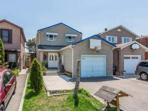 Upgraded 3+1 Bdrm Det'd Home In Fairview Community